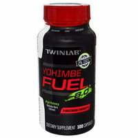 Twinlab Yohimbe Fuel 8.0 Maximum Energy 100 Caps
