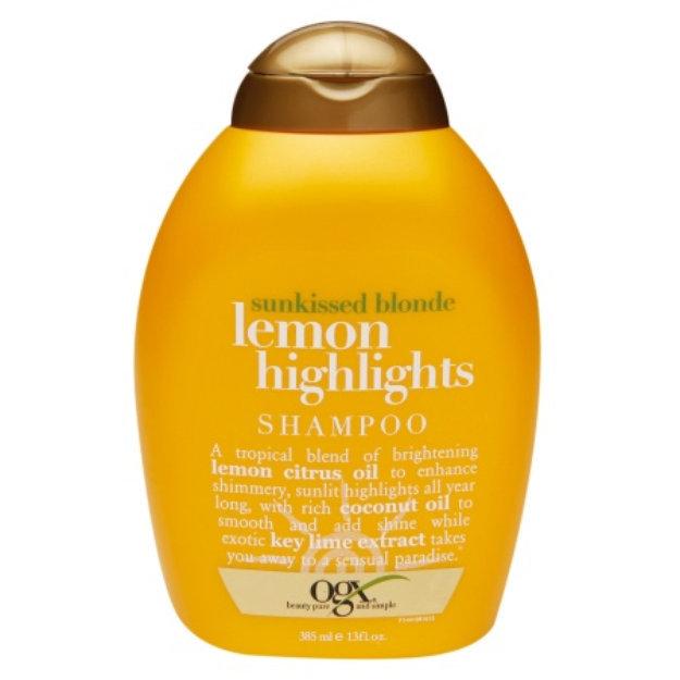 Ogx Shampoo Sunkissed Blonde Lemon Highlights Reviews