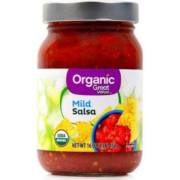 Teasdale Foods Great Value Organic Salsa Mild
