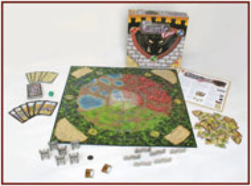 Fireside Games Castle Panic the Board Game