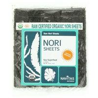 Navitas Naturals Organic Raw Nori Sheets, 10 Count, 0.9 Ounce