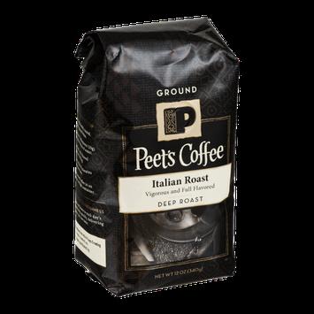 Peet's Coffee Italian Roast Deep Roast Ground Coffee