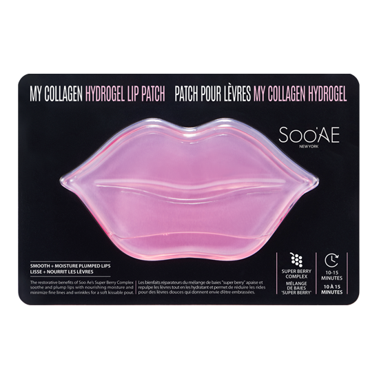 Soo' Ae My Collagen Hydrogel Lip Patch