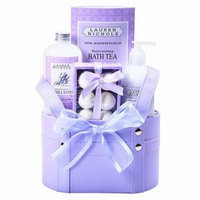 Stringer's Baskets Purple Spa Tote, 1 ea