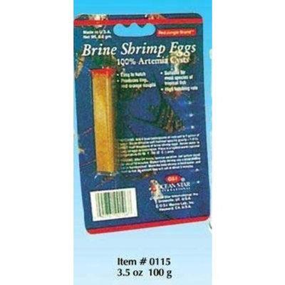O.S.I. Ocean Star International AOSI0115 Osi Brine Shrimp Eggs Pet Food, 3.5-Ounce