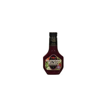 Golding Farms, Raspberry Walnut Vinaigarette Dressing, 16oz Bottle (Pack of 6)