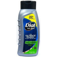 Dial for Men, Ultimate Clean Full Force Hydrating Body Wash, 24 Oz (Case of 6)