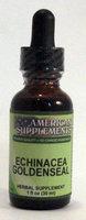 Echinacea Goldenseal No Chinese Ingredients American Supplements 1 oz Liquid