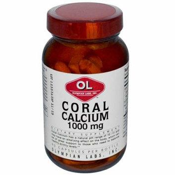 Olympian Labs Coral Calcium 1 g 90 Capsules