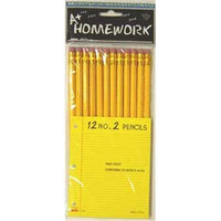 A+ Childsupply Pencils - 12 pack - No. 2 lead.(Case of 48)