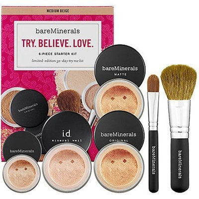 Bare Escentuals bareMinerals Try. Believe. Love FAIRLY LIGHT (6pc Kit)