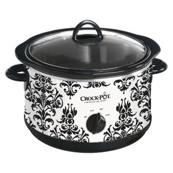 Crock Pot Crock-Pot Patterned Slow Cooker 4.5-qt.