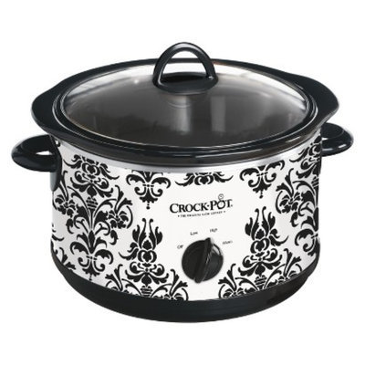 Crock Pot Crock-Pot Patterned Slow Cooker 4.5-qt.