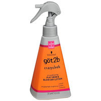 göt2b® CrazySleek Hot Smooth Flat Iron & Blow Dry Lotion
