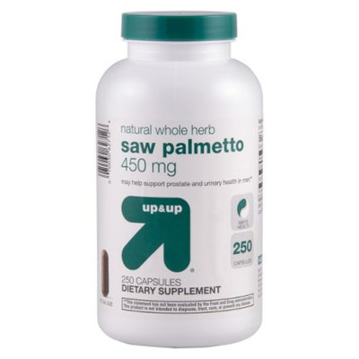 up & up up&up Saw Palmetto 450 mg Capsules - 250 Count