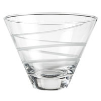 Rolf Glass Spiral Martini Glass Set of 4 - 10oz.