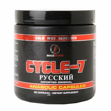 Image Sports CYCLE-7 Anabolic Capsules, 60 ea