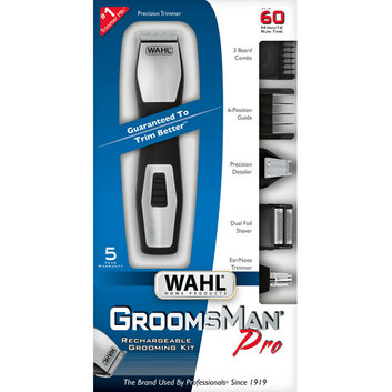 WAHL Home Products Groomsman Pro Rechargeable Grooming Kit