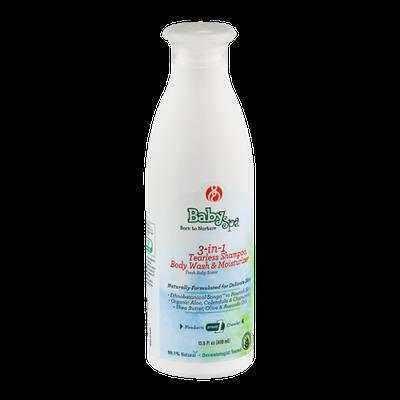 BabySpa 3-in-1 Tearless Shampoo, Body Wash & Moisturizer