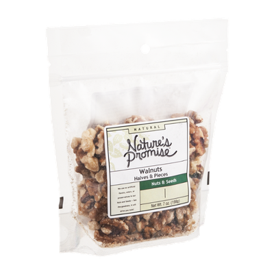 Nature's Promise Natural Walnuts Halves & Pieces