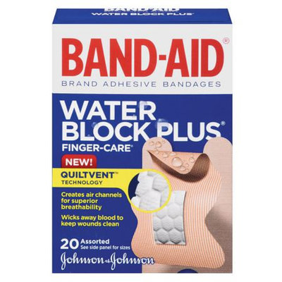 Band-Aid Water Block Plus Finger-Care Bandages