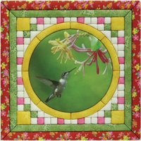 Hummingbird Photo Quilt Magic Kit-12