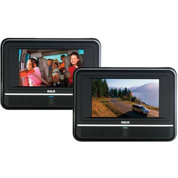 Rca RCA Twin Mobile DVD Players with 7-Inch LCD Screens