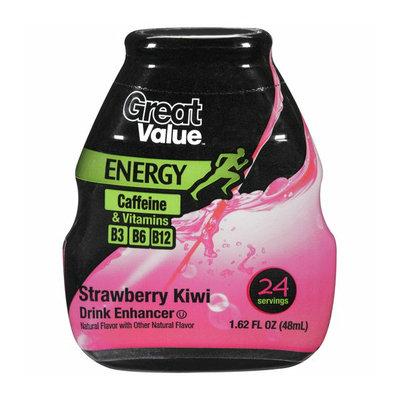 Great Value Energy Strawberry Kiwi Drink Enhancer