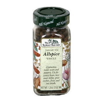 The Spice Hunter Whole Jamaican Allspice, 1.3-Ounce Jar (Pack of 6)