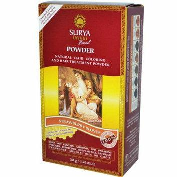 Surya Brasil Hair Coloring and Hair Treatment Powder Strawberry Blonde 1.76 oz
