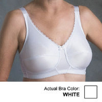 Nearly Me Plain Soft Cup Mastectomy Bra 44A