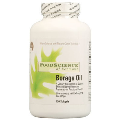 Borage Oil 120 caps by Foodscience Of Vermont