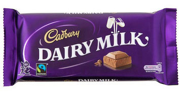 Cadbury Dairy Milk Candy Bar