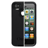 Otterbox Commuter Cell Phone Case for iPhone4/4S - Black (77-18548P1)