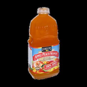 Langers Apple Peach Mango 100% Pure Juice