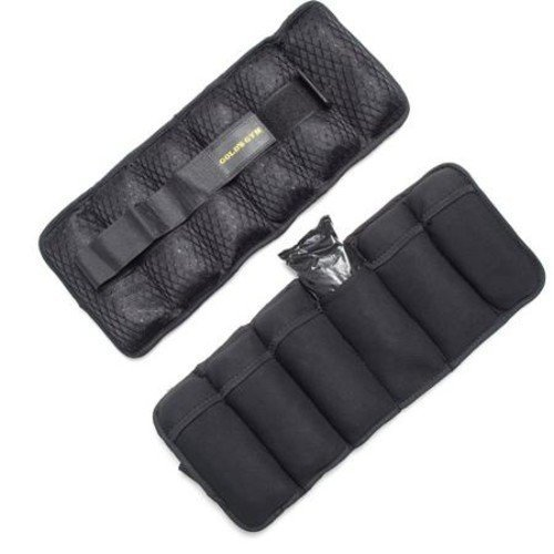 Gold's Gym 10-Pound Pair Adjustable Ankle Weights