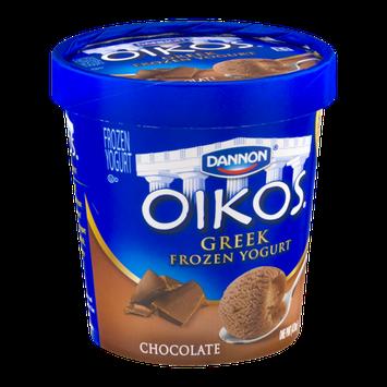 Dannon Oikos Greek Frozen Yogurt Chocolate