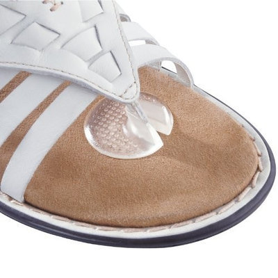 Peda Bella Silicone Thong Sandal Toe Protectors, Pack of 6