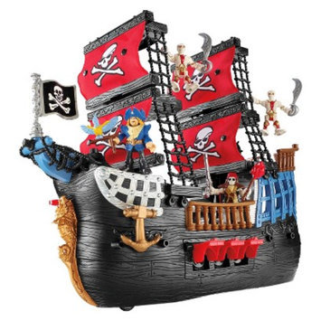 Fisher-Price Imaginext Pirate Ship Playset