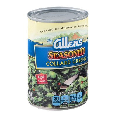 The Allens Seasoned Collard Greens