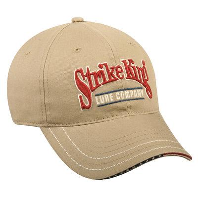 Strike King Khaki Velcro Hat Multi One size