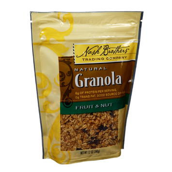 Nash Brothers Natural Fruit & Nut Granola