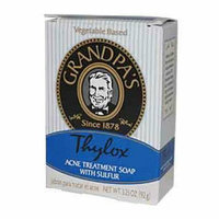 Grandpas 482091 Thylox Acne Treatment Bar Soap with Sulfur