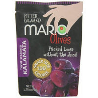 Mario Camacho Thyme Seasoned Pitted Kalamata Olives, 1.75-Ounce Packages (Pack of 10)