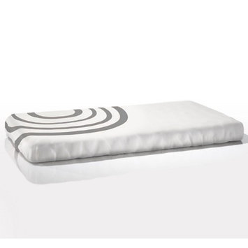 Nook Sleep Systems Organic Fitted Ripple Crib Sheet Color: Misty