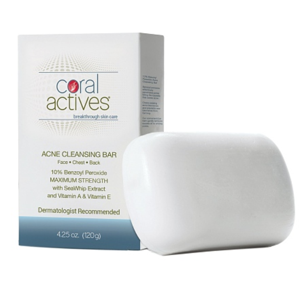 Coral Actives Acne Cleansing Bar