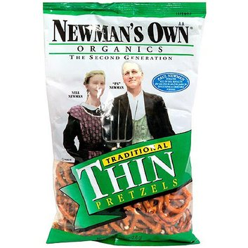 Newman's Own Organics Second Generation Traditional Thins Pretzels