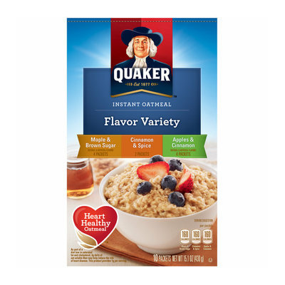 Quaker Flavor Variety Instant Oatmeal