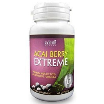 Hh Nutritionals / Eden's Finest Nutrition Acai Berry Extreme All-In-One Weight Loss, Colon Cleanse, Antioxidant, Appetite Suppressant, Metabolism Booster