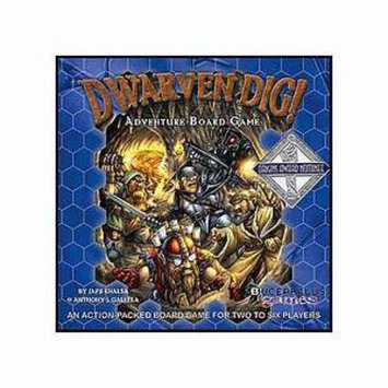 Bucephalus Games Dwarven Dig Ages 8 and up, 1 ea